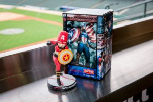 AthLife Unlimited_ Indianapolis Indians Captain America Bobblehead